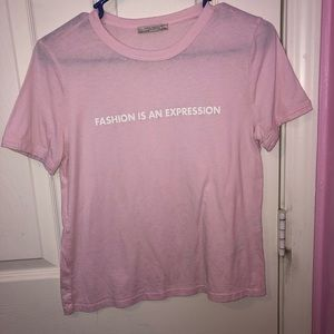 Cute pink Zara t-shirt